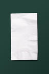 White Recycled Paper Dinner Napkins