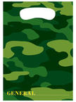 Army Themed Party Loot Bags