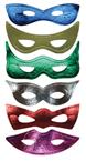 Mardi Gras Foil Eye Masks – Favors