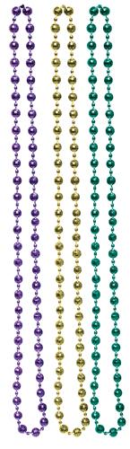 Mardi Gras Bulk Disco Beads - Assorted