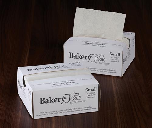 Small Waxed Bakery Tissues - Interfolded