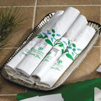 Rolled Recycled Napkins with Compostable Knife & Fork