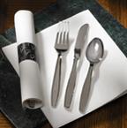 Pre-Rolled White FashnPoint Napkins - Metallic Cutlery – CaterWraps