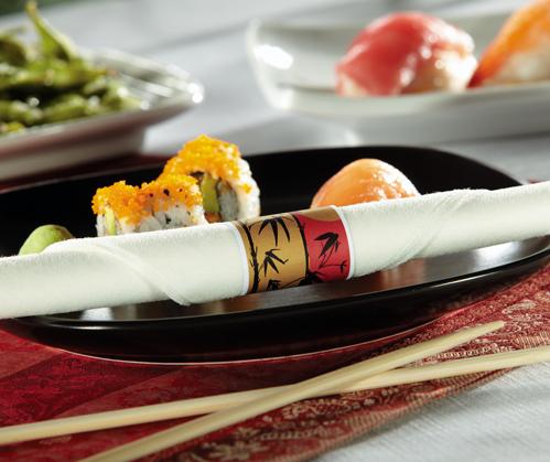 Pre-Rolled Napkins - Chopsticks - CaterWraps