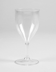 Clear Premium Plastic Wine Glasses - 14 Oz (12 Ct)