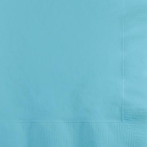 Pastel Blue Beverage Napkins - 600 Count