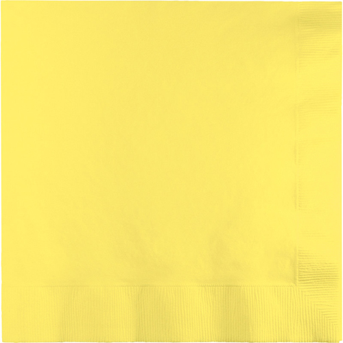 Mimosa Yellow Luncheon Napkins - 600 Count