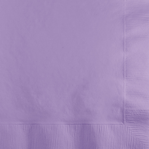 Lavender Beverage Napkins - 600 Count