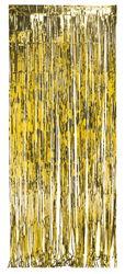 Gold Foil Fringe Door Curtains