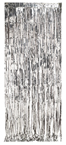 Silver Foil Door Curtains