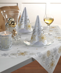 Crystal Snowflake Dunicel Table Accents