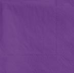 Purple Beverage Napkins - 1,000 Count