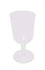 Clear Plastic Wine Glasses - 5 oz.
