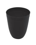 Black Plastic Tumblers - 12 oz.