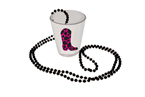 Western Themed Shot Glass Necklaces
