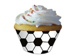 Soccer Cupcake Wrappers