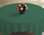 Hunter Green Linen Like Paper Table Covers - 82 Inch