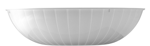 White Plastic Serving Bowls