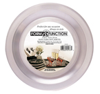 Clear Round Plastic Dinner Plates