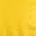 School Bus Yellow Beverage Napkins - 1200 Count