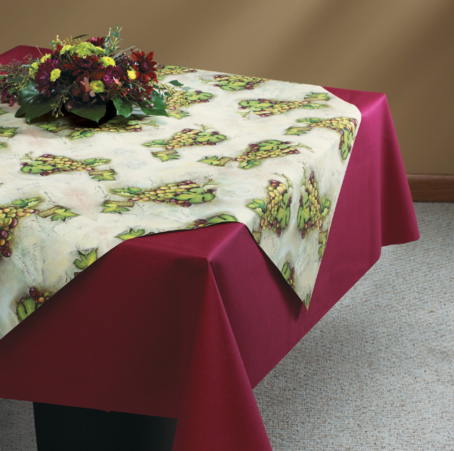 Linen Like Paper Table Accents - Napa Valley