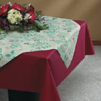 Linen Like Paper Table Accents - English Garden