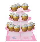Pink Teddy Bear Cupcake Tier - Server