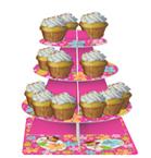 Luau Fun Cupcake Tier Servers