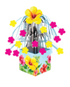 Hibiscus Floral Mini Foil Centerpieces