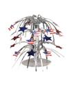 US Flags Mini Cascade Centerpieces