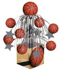 Basketball Mini Cascade Table Centerpieces