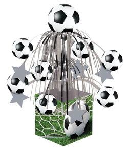 Soccer Mini Cascade Centerpieces