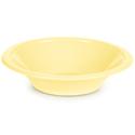 Mimosa Yellow Plastic Bowls