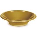 Gold Plastic Bowls