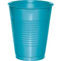 Bermuda Blue Plastic Beverage Cups - 16 oz