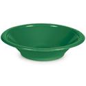 Emerald Green Plastic Disposable Bowls