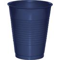 Navy Blue Plastic Beverage Cups - 16 oz
