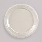 Clear Plastic Dessert Plates - Bulk