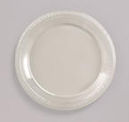 Clear Plastic Luncheon Plates
