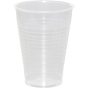 Clear Frost Plastic Beverage Cups - 12 oz