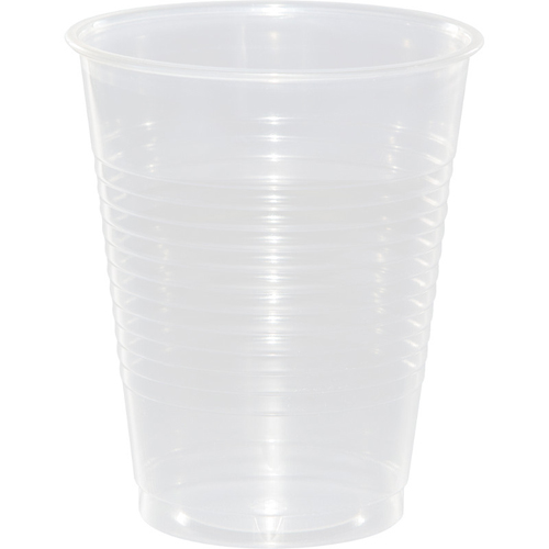 Clear Frost Plastic Beverage Cups - 16 oz