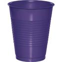 Purple Plastic Beverage Cups - 16 oz Bulk