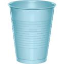Pastel Blue Plastic Beverage Cups - 16 oz