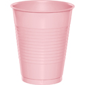 Pink Plastic Beverage Cups - 16 oz