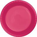 Magenta Plastic Dessert Plates