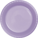 Lavender Plastic Dessert Plates