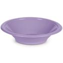 Lavender Plastic Bowls