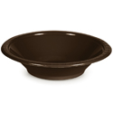 Chocolate Brown Plastic Bowls