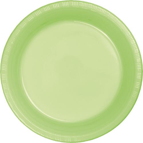 Pistachio Plastic Dessert Plates