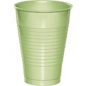 Pistachio Plastic Beverage Cups - 12 oz